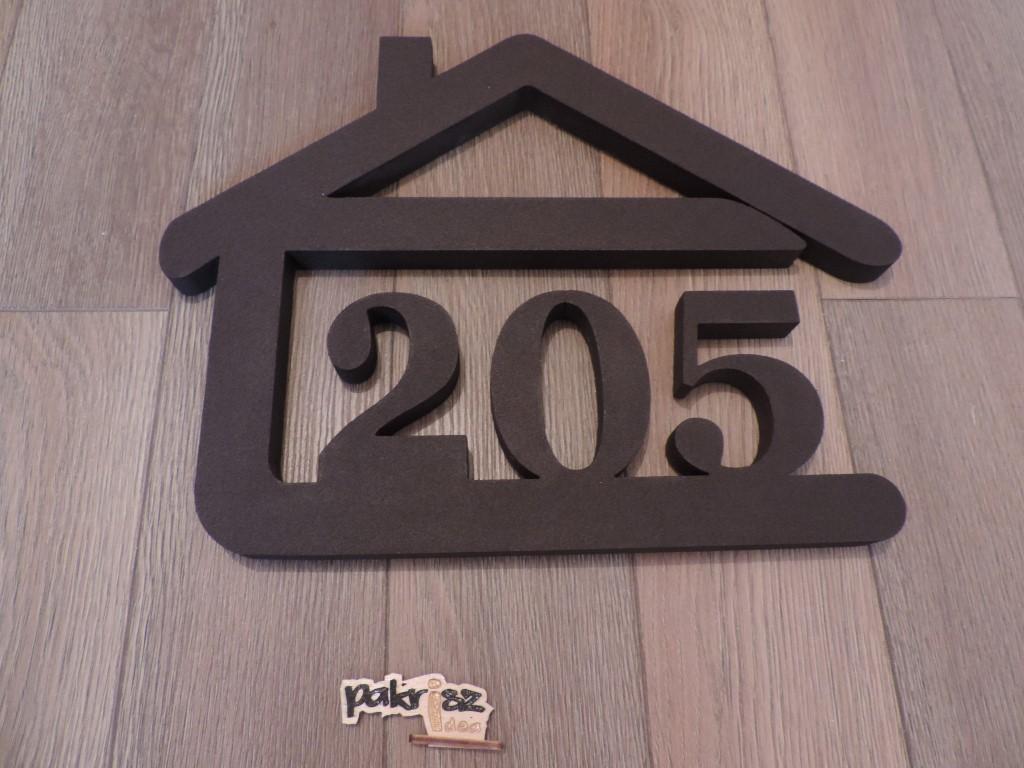 Originálne čísla na dom v domčeku - Obrázok č. 55