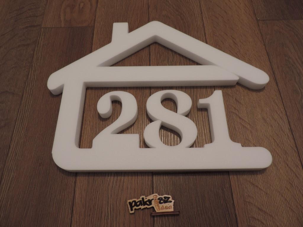 Originálne čísla na dom v domčeku - Obrázok č. 56