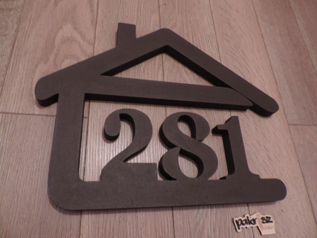 Originálne čísla na dom v domčeku - Obrázok č. 57