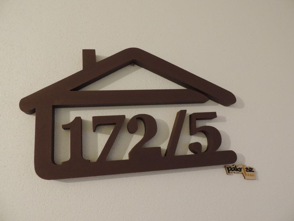 Originálne čísla na dom v domčeku - Obrázok č. 59