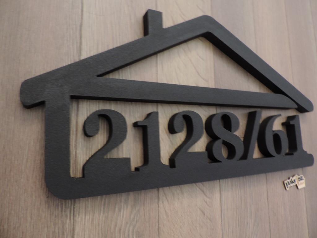 Originálne čísla na dom v domčeku - Obrázok č. 62
