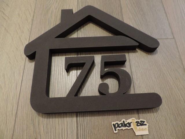 Originálne čísla na dom v domčeku - Obrázok č. 63
