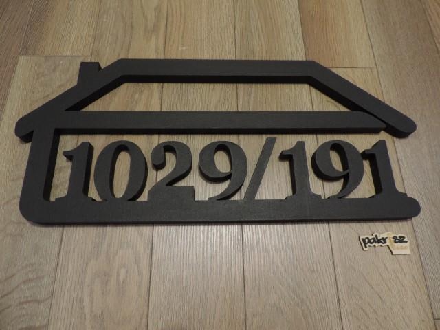 Originálne čísla na dom v domčeku - Obrázok č. 65