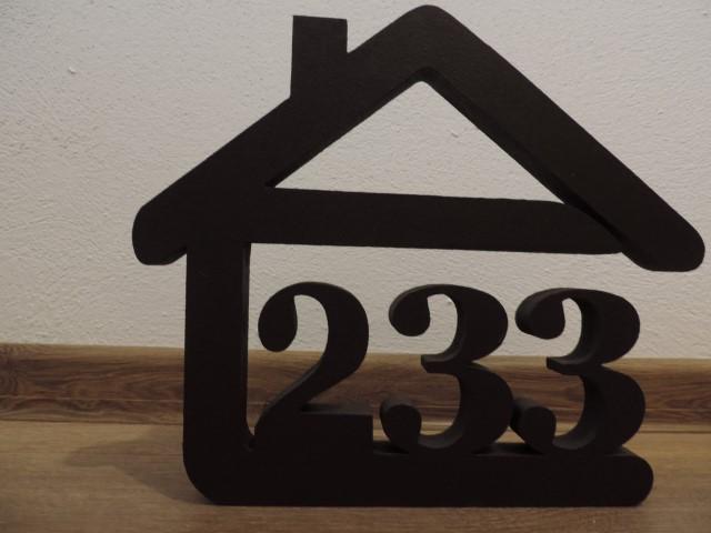 Originálne čísla na dom v domčeku - Obrázok č. 66