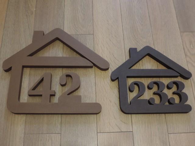 Originálne čísla na dom v domčeku - Obrázok č. 67