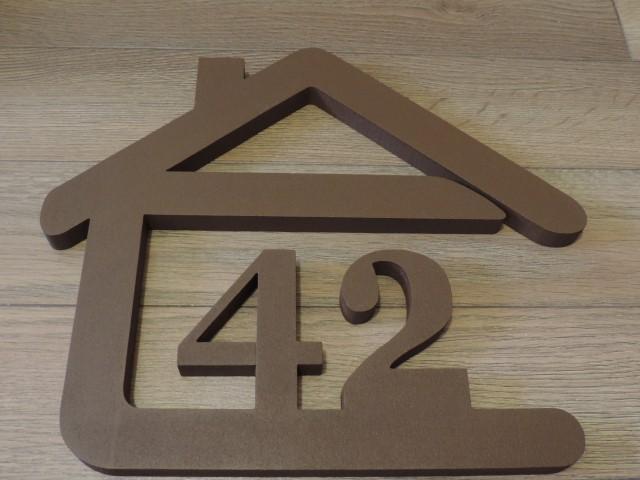 Originálne čísla na dom v domčeku - Obrázok č. 68