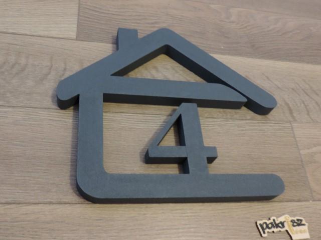 Originálne čísla na dom v domčeku - Obrázok č. 69