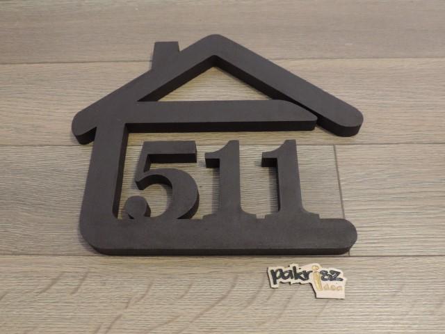 Originálne čísla na dom v domčeku - Obrázok č. 70