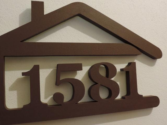 Originálne čísla na dom v domčeku - Obrázok č. 71