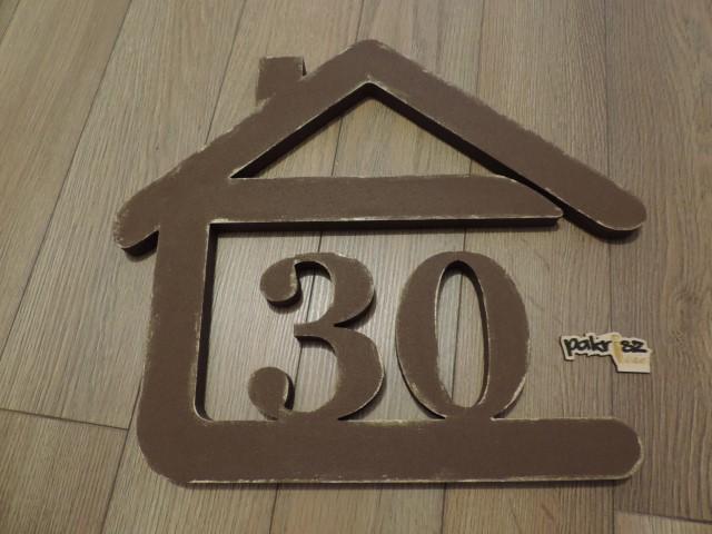 Originálne čísla na dom v domčeku - Obrázok č. 72