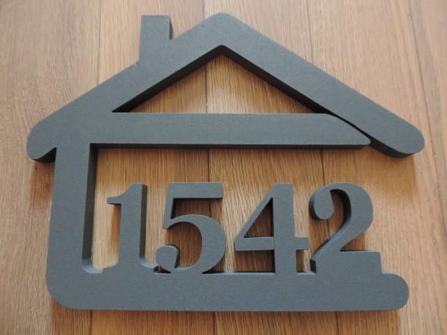 Originálne čísla na dom v domčeku - Obrázok č. 73