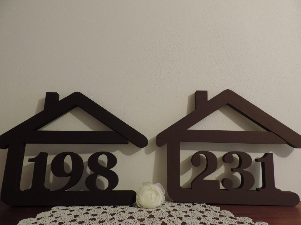 Originálne čísla na dom v domčeku - Obrázok č. 74
