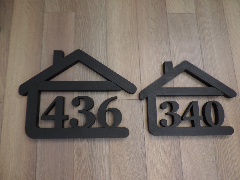 Originálne čísla na dom v domčeku - Obrázok č. 78