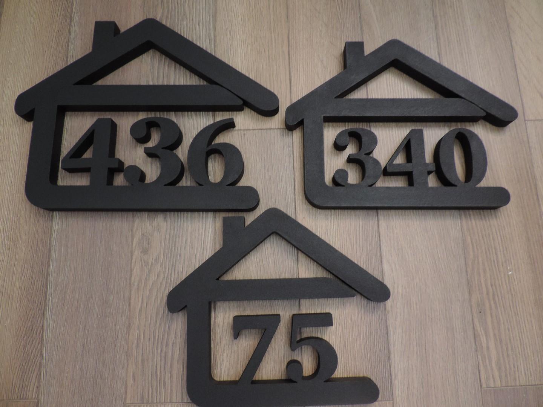 Originálne čísla na dom v domčeku - Obrázok č. 79