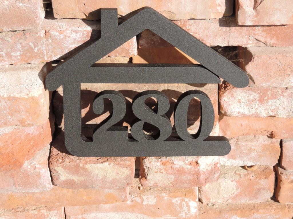 Originálne čísla na dom v domčeku - Obrázok č. 82