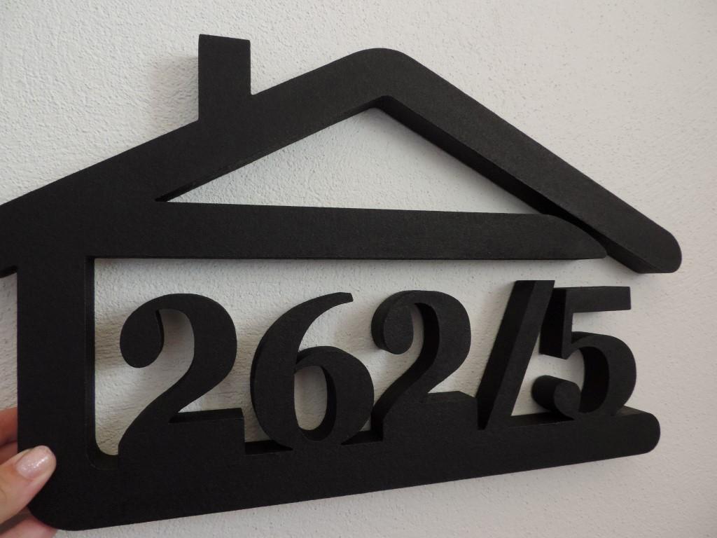 Originálne čísla na dom v domčeku - Obrázok č. 83