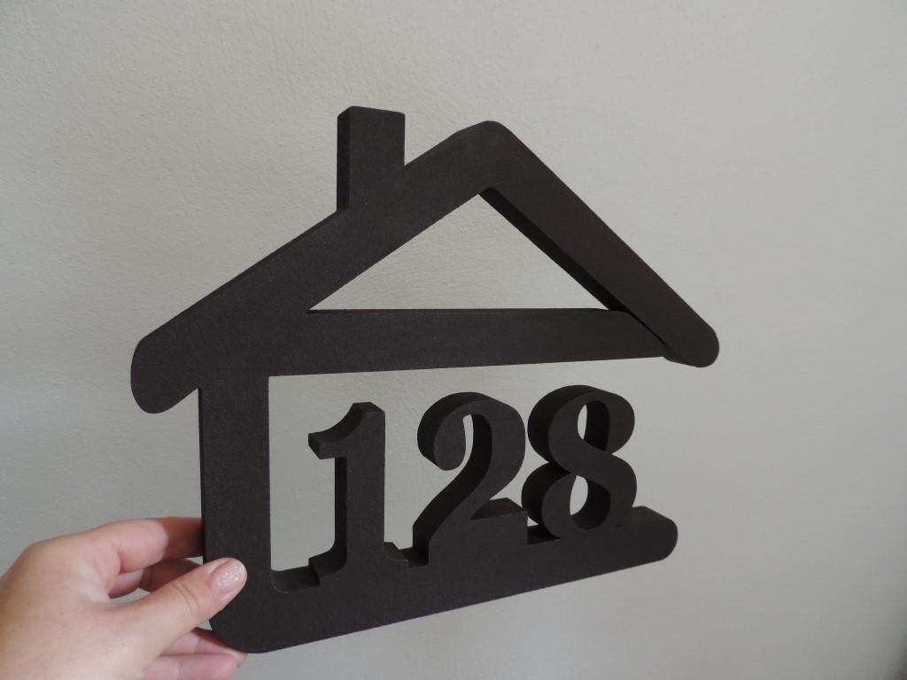 Originálne čísla na dom v domčeku - Obrázok č. 84