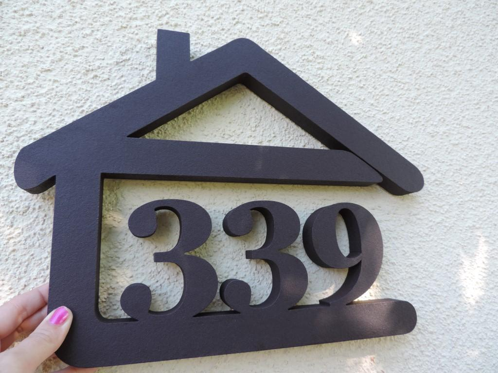 Originálne čísla na dom v domčeku - Obrázok č. 85