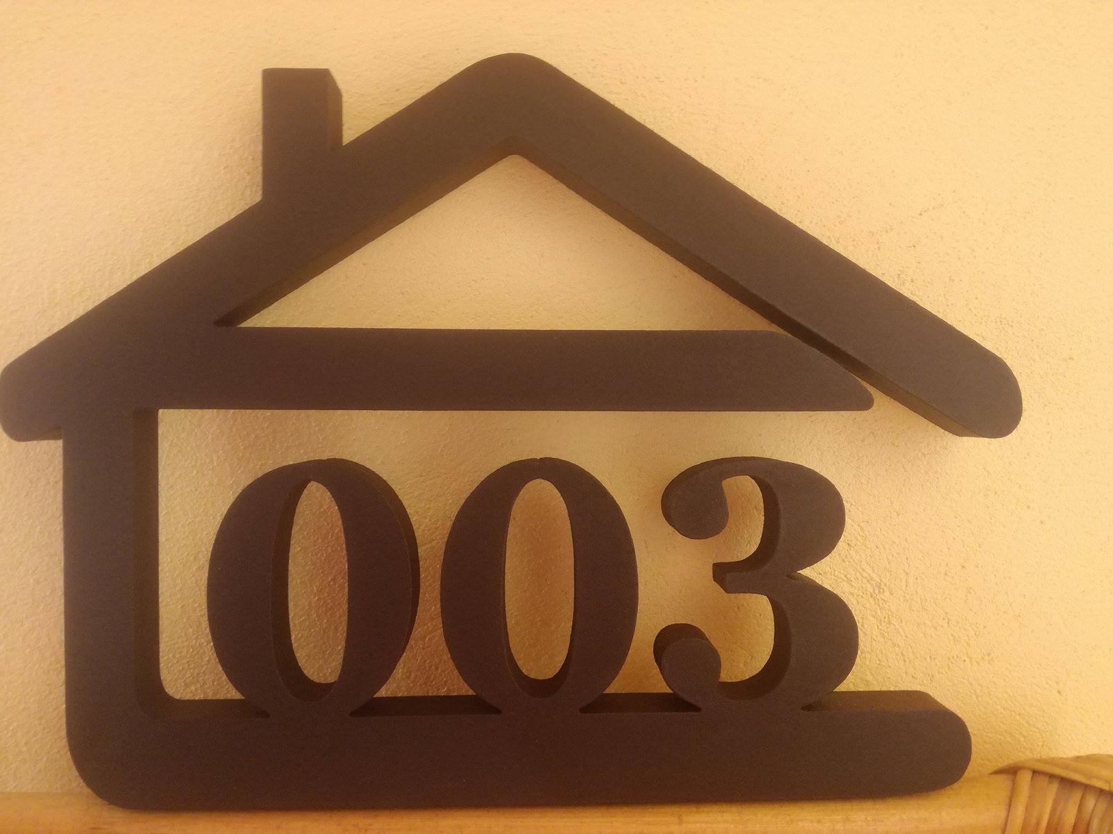 Originálne čísla na dom v domčeku - Obrázok č. 86