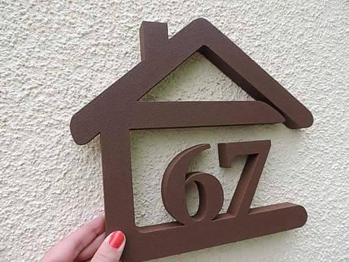 Originálne čísla na dom v domčeku - Obrázok č. 87