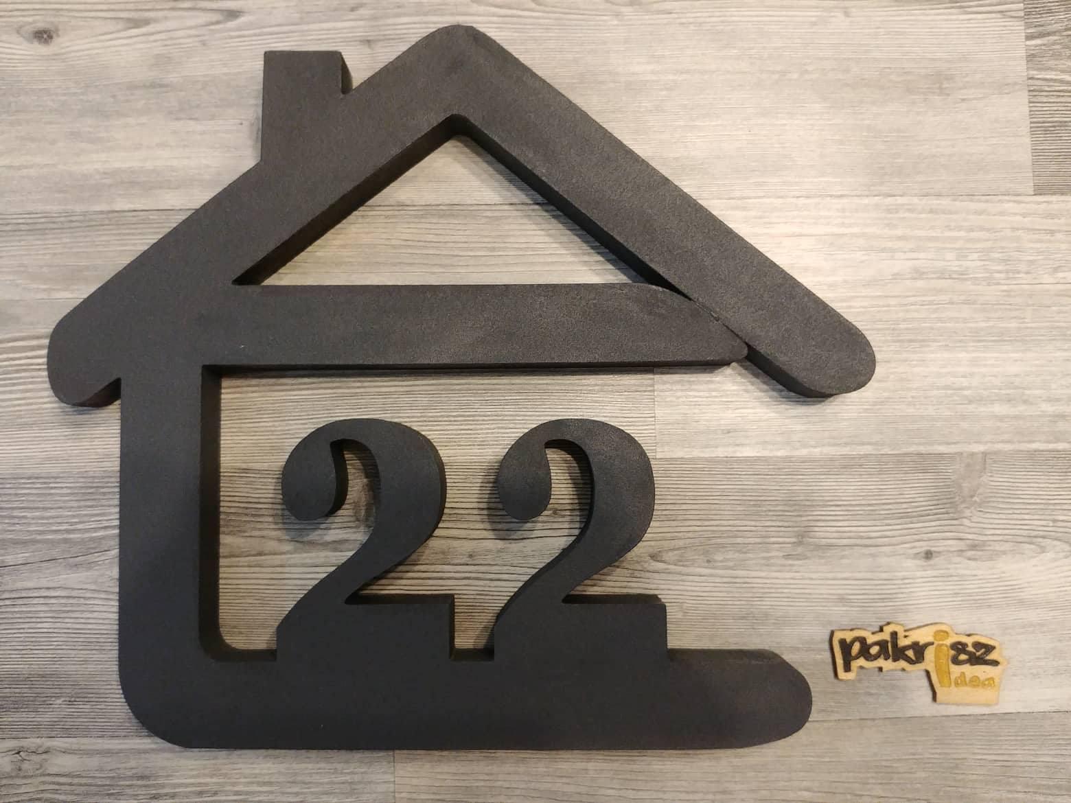 Originálne čísla na dom v domčeku - Obrázok č. 93