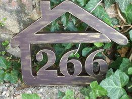 Originálne čísla na dom v domčeku - Obrázok č. 94
