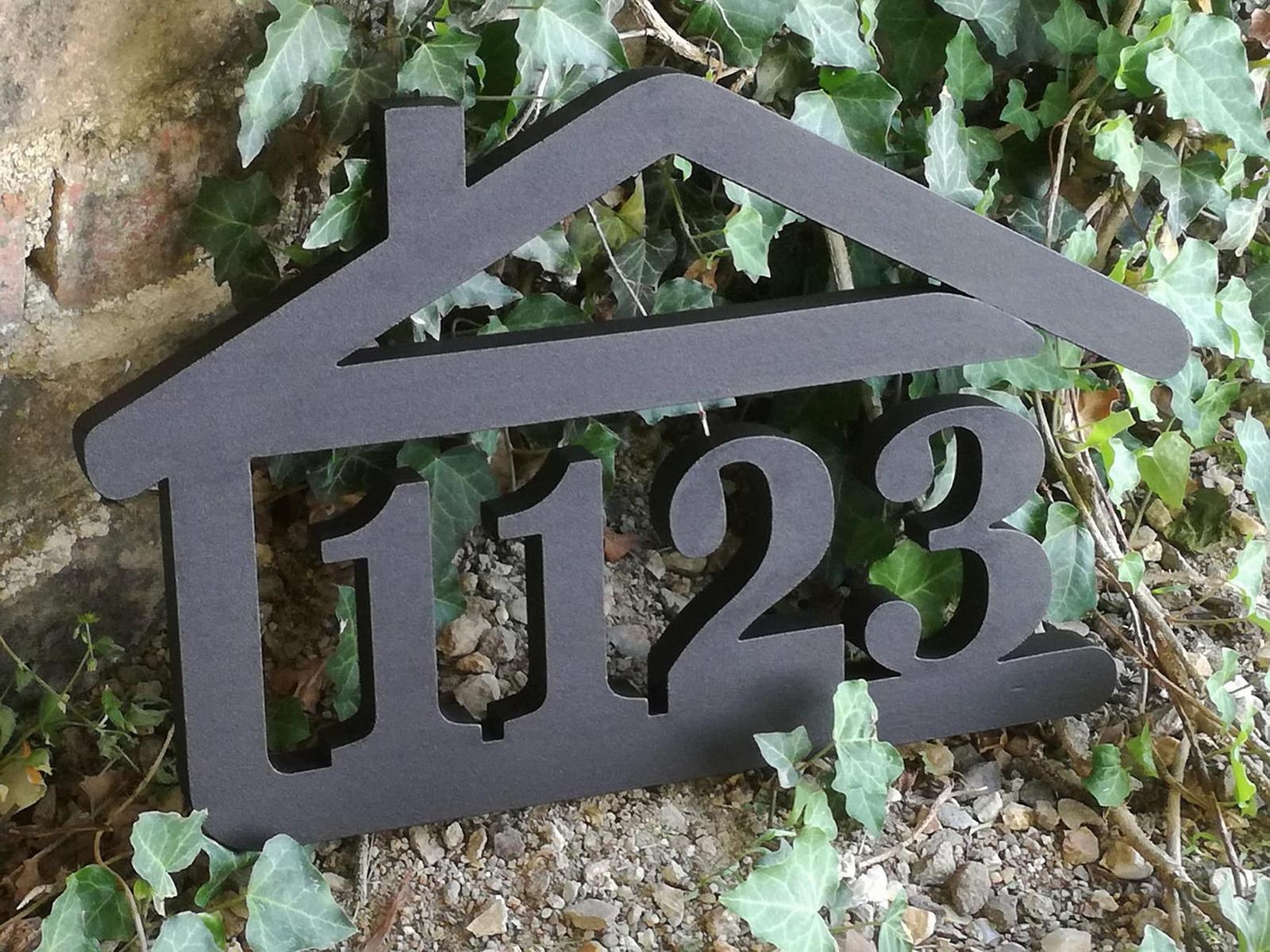 Originálne čísla na dom v domčeku - Obrázok č. 96