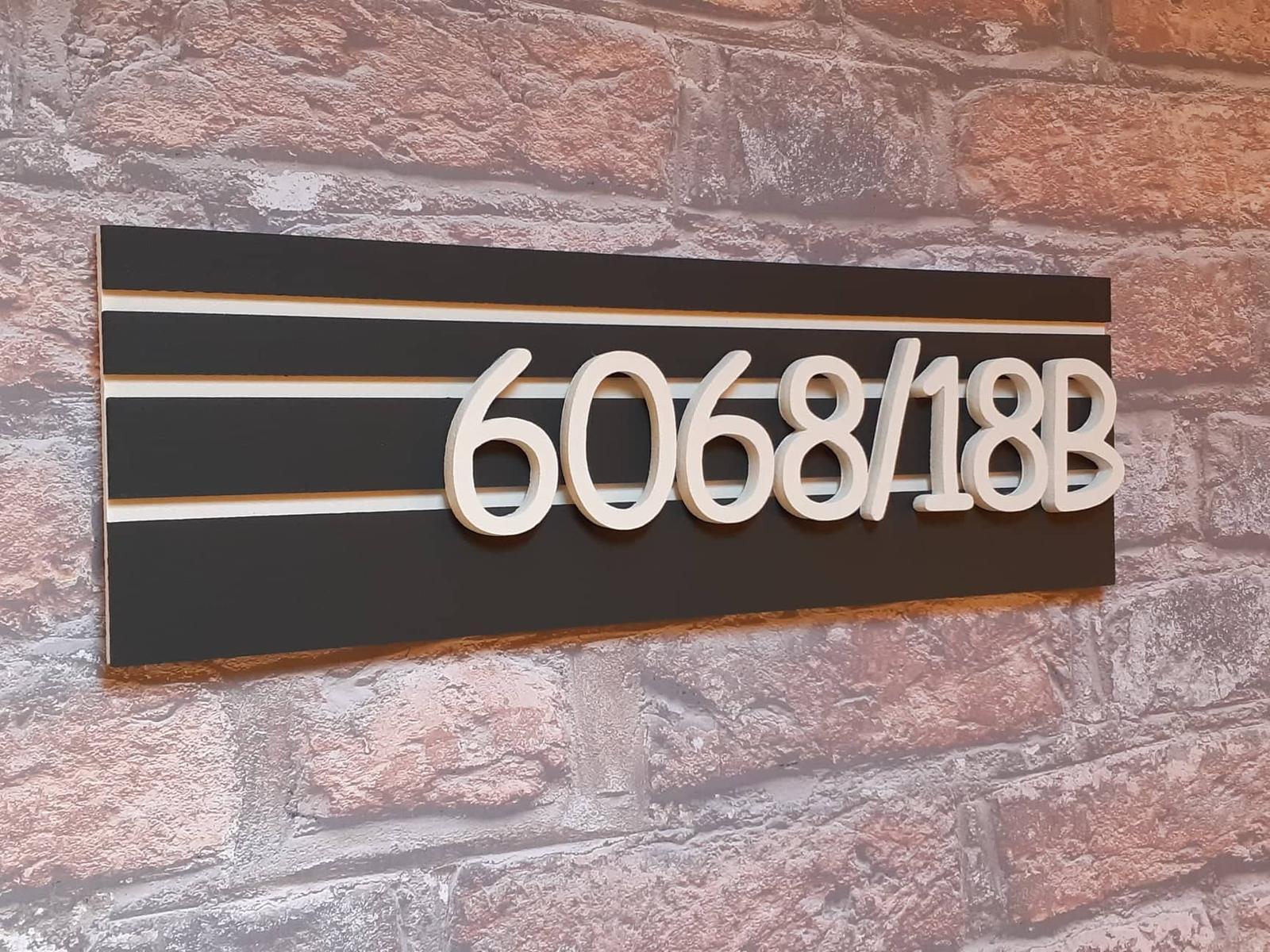 NOVINKA Súpisné číslo na tabuľke - Obrázok č. 4