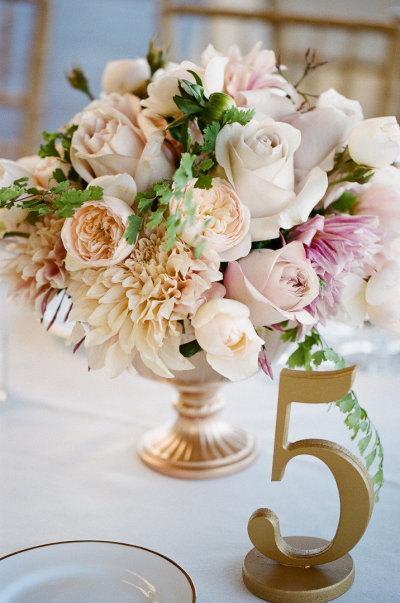 Zlaté čísla na stoly - Obrázok č. 1