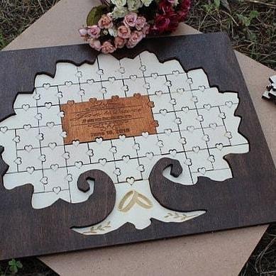 Kniha hostí puzzle - Obrázok č. 2