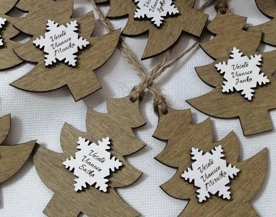 Vianočná ozdoba s prianím-veľký hit v predvianočnom období - Obrázok č. 5