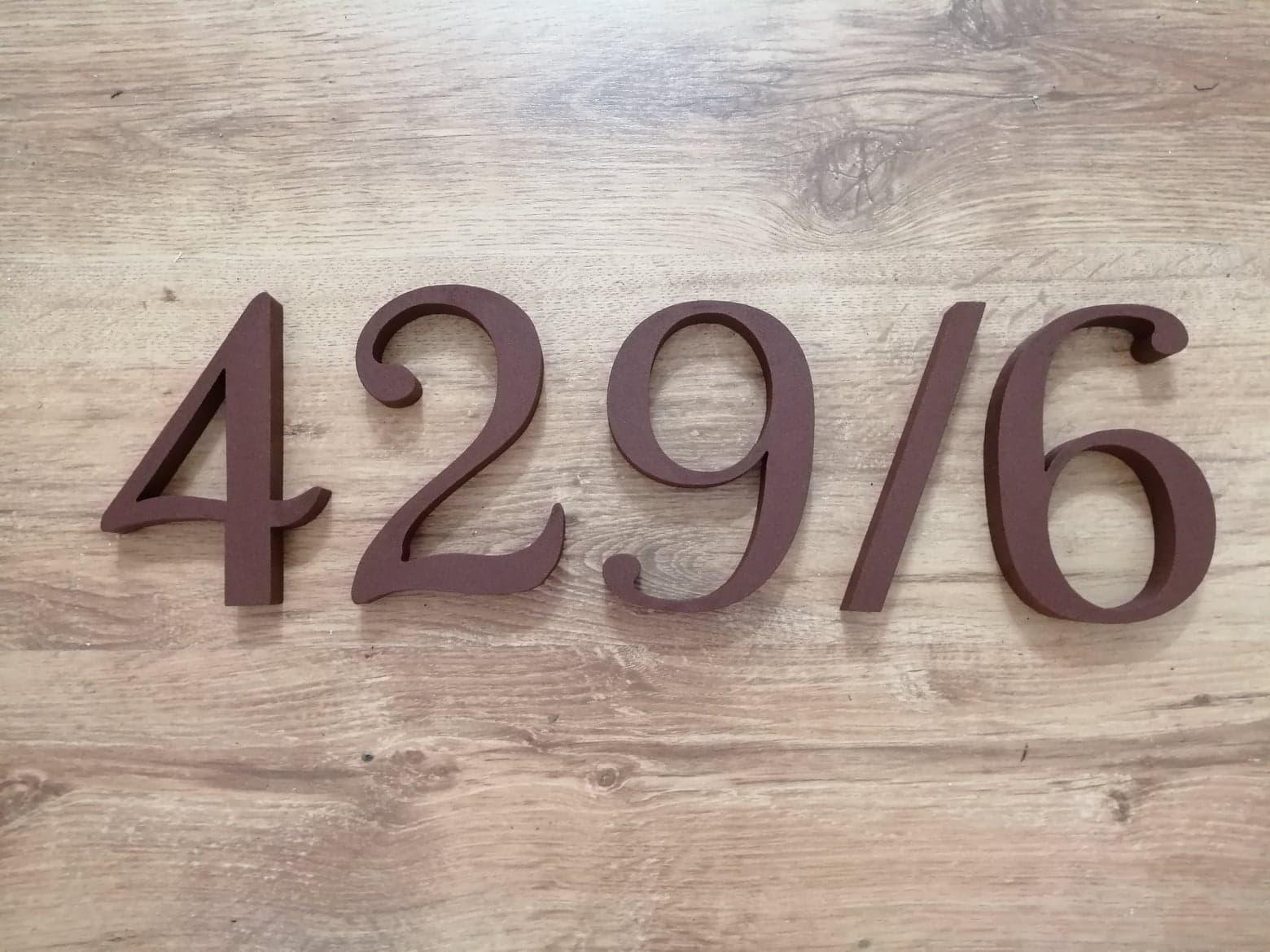 Čísla na dom - rôzne - Obrázok č. 12