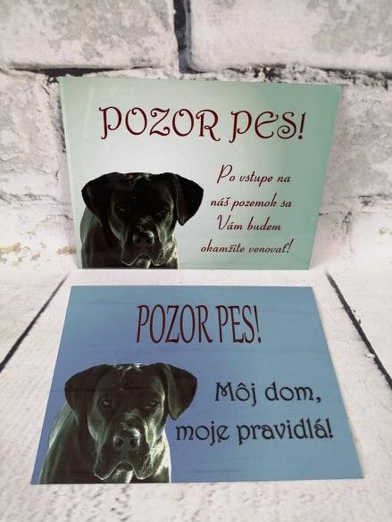Tabuľka : Pozor pes! - Obrázok č. 7