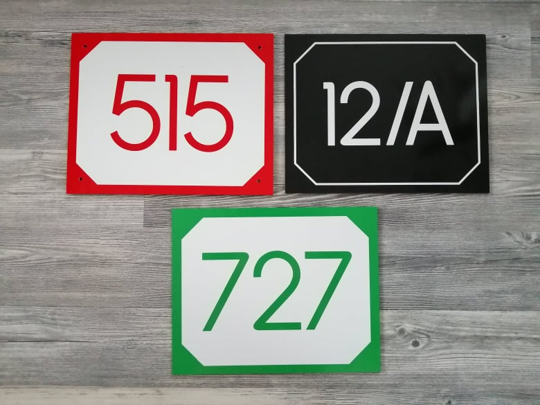 Číslo na dom - tabuľka - Obrázok č. 15