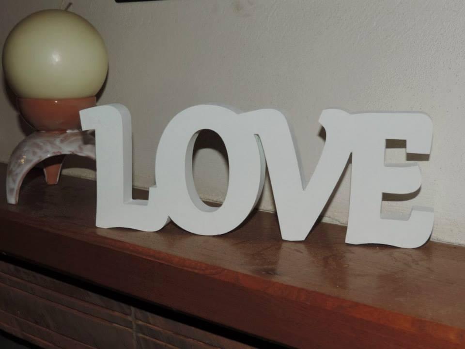 Nápis LOVE - Obrázok č. 1