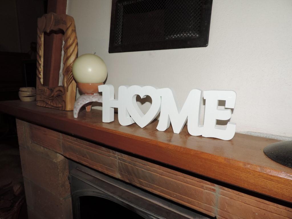 3D nápis HOME - Obrázok č. 4