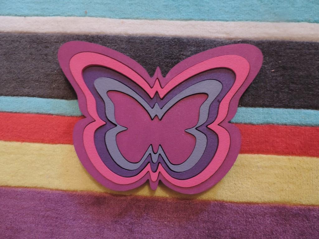 Detská dekorácia na stenu -motýle - Obrázok č. 2