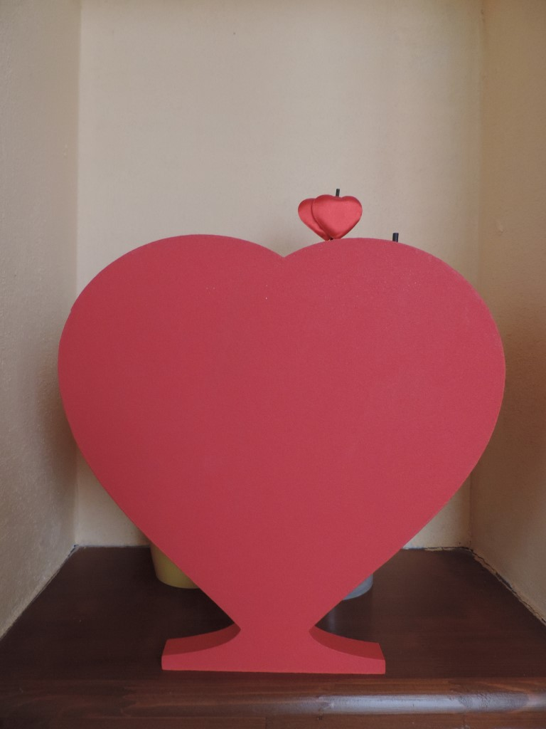 Srdce na stojato - Obrázok č. 1
