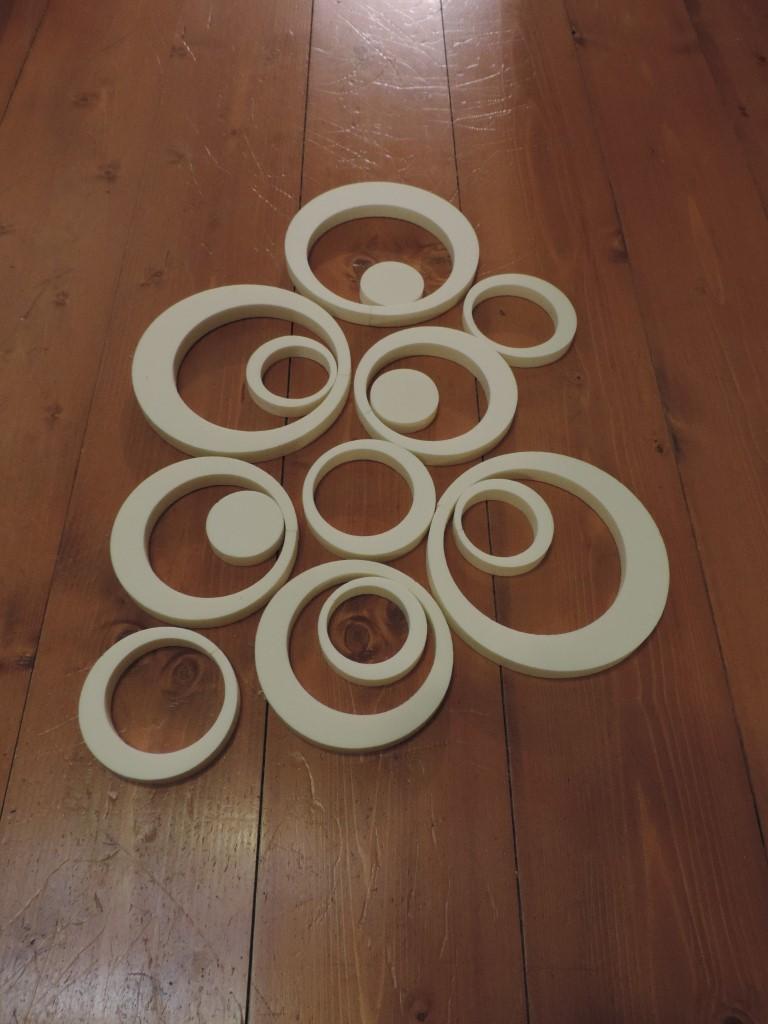 Dekoračné kruhy - Obrázok č. 4
