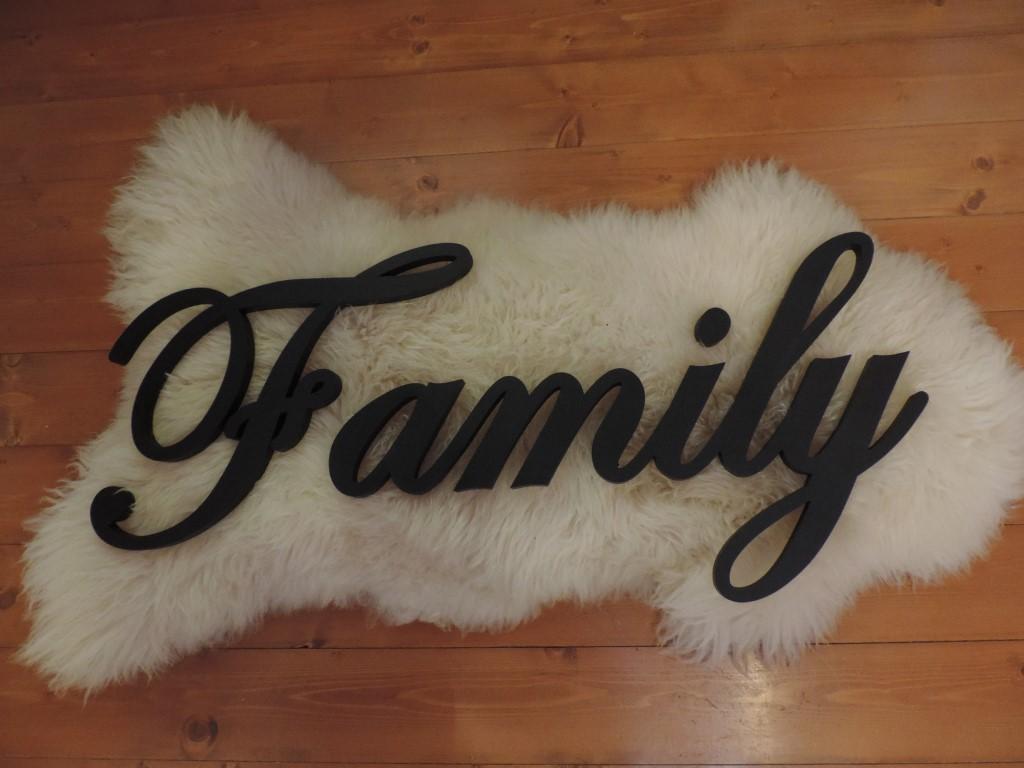 Family nápis - Obrázok č. 1