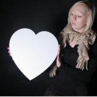 Dekoračné srdce  - Obrázok č. 1