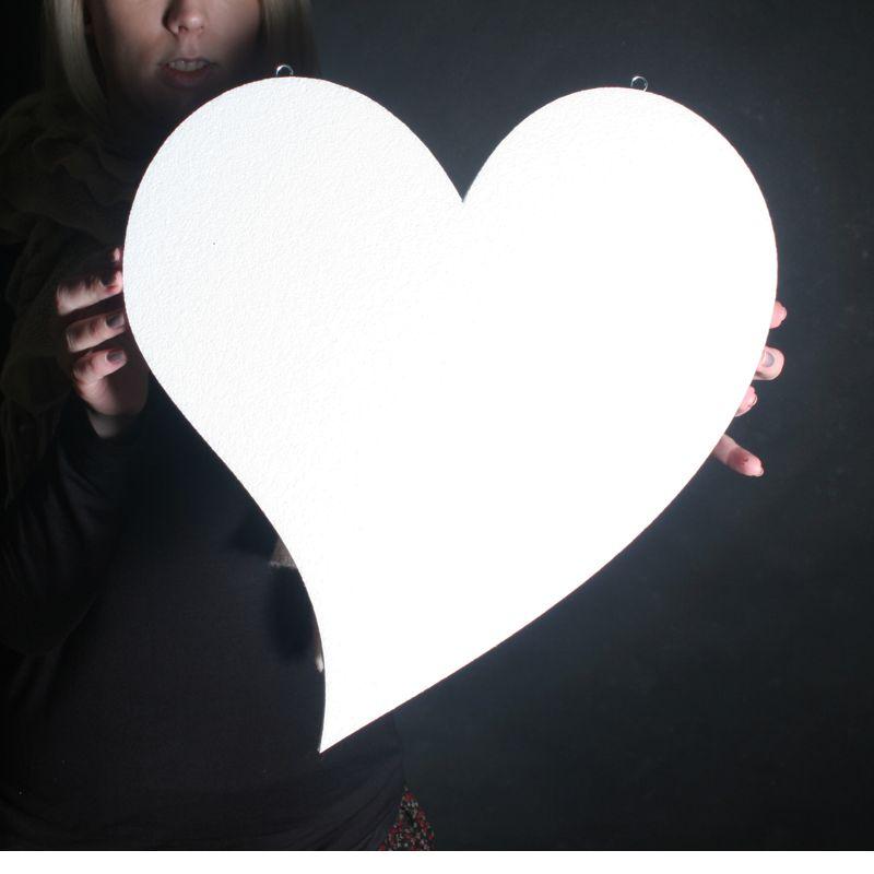 Dekoračné srdce  - Obrázok č. 2