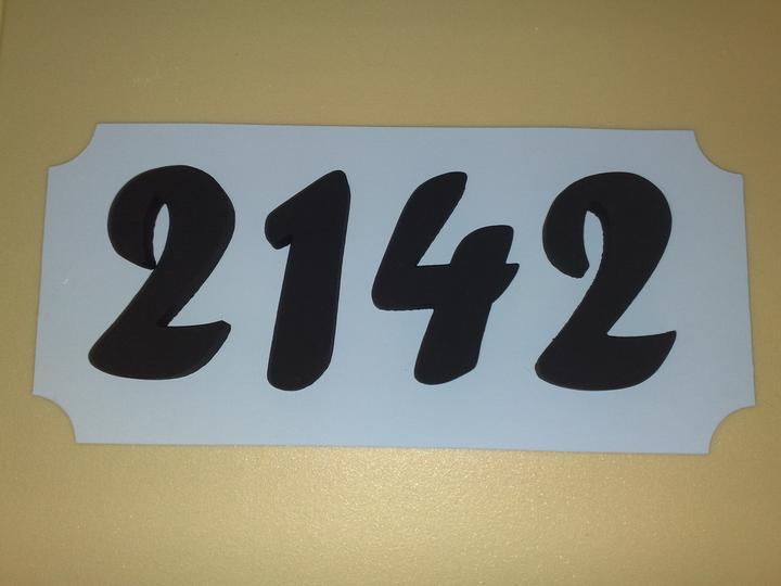 Súpisné číslo s tabuľkou - Obrázok č. 4