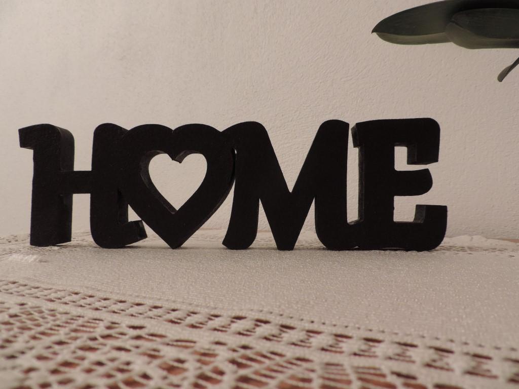 3D nápis HOME - Obrázok č. 3