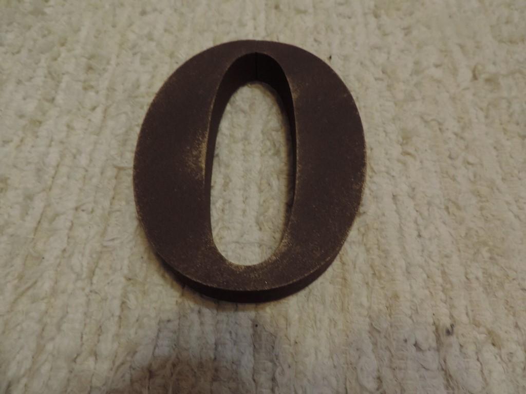 Súpisné číslo na dom s patinou - Obrázok č. 2
