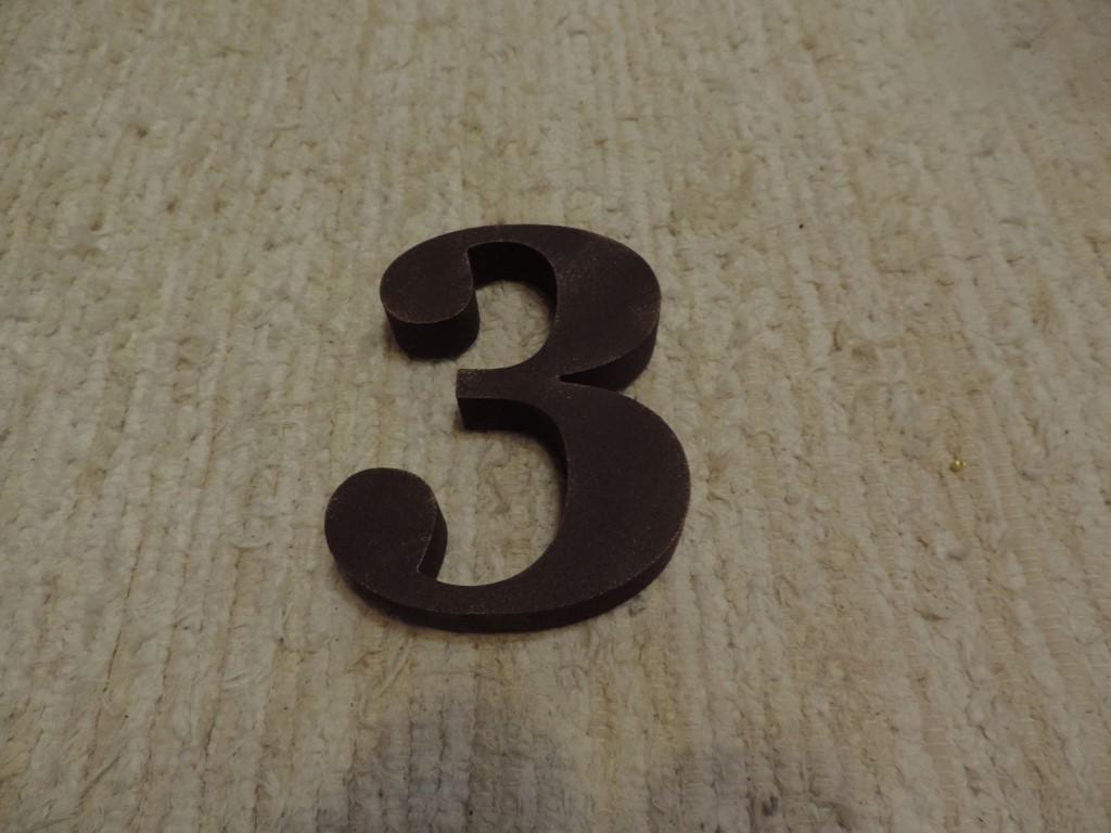 Súpisné číslo na dom s patinou - Obrázok č. 4
