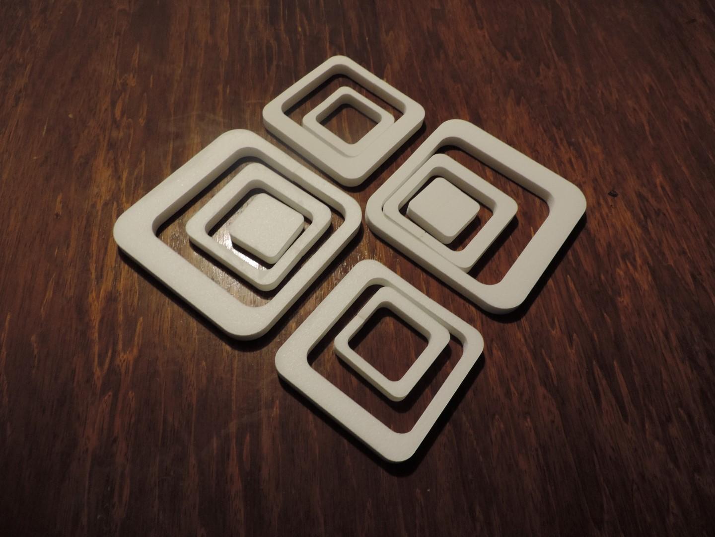 Dekoračné štvorce - Obrázok č. 4