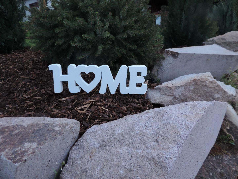 3D nápis HOME - Obrázok č. 1