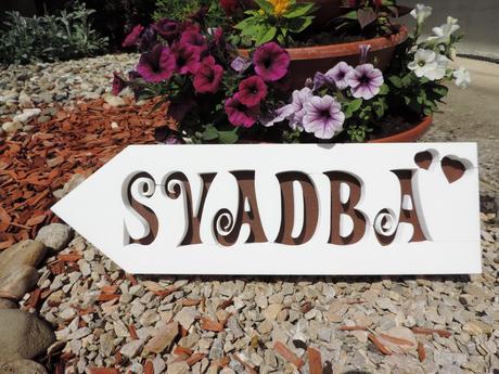 Tabuľa SVADBA - Obrázok č. 1