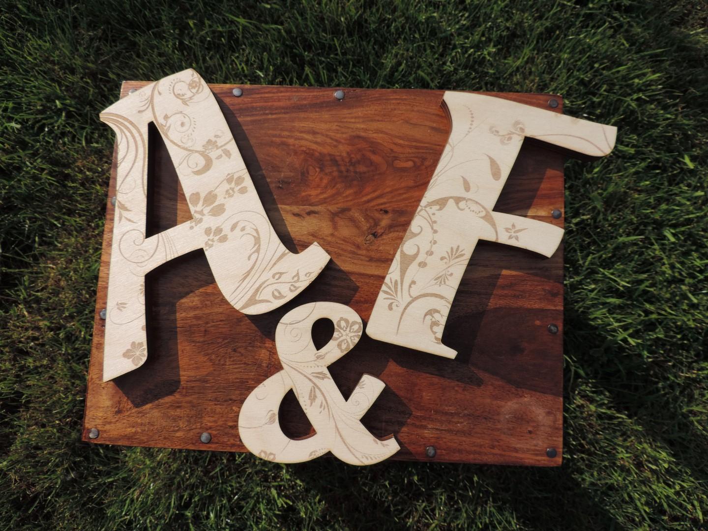 Drevené iniciály - Obrázok č. 2